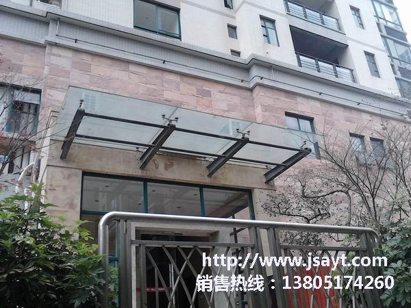 南京玻璃雨棚-8